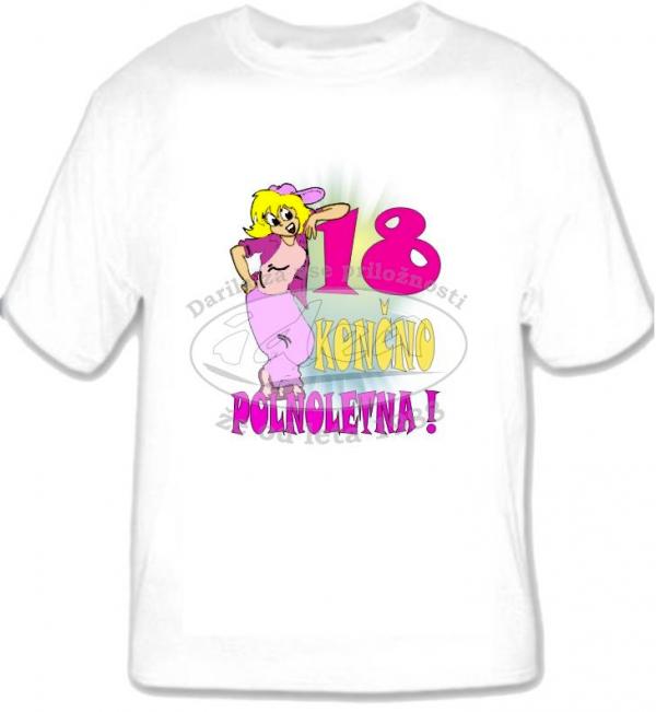 Majica za 18.rojstni dan